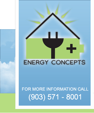 Energy Concepts of Texas - specializes in Energy Audits and